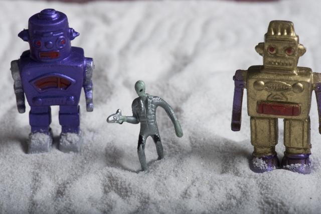 ロボットと宇宙人
