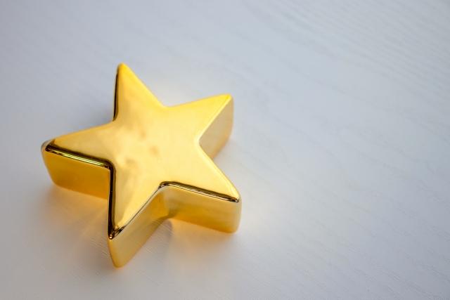 星の形の置き物