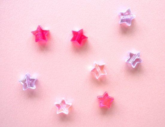 星の形のビーズ